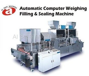 Automatic Computer Weighing Filling & Sealing Machine