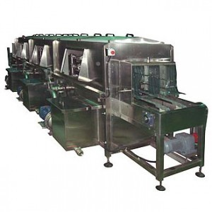 Crate Washer With Dry System