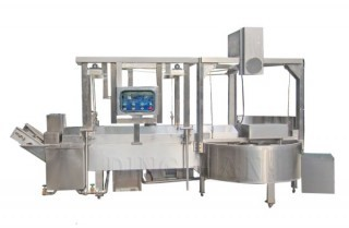L Type Frying Machine