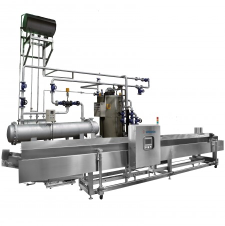 The Heat Transfer Oil Heating System
